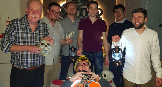 Stag do in our Mayan Escape Room
